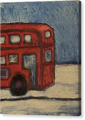 Davis Unitran Bus Canvas Print by Clarence Major