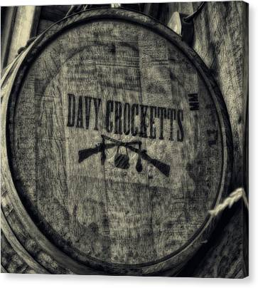 Davy Crocketts Whiskey Canvas Print by Dan Sproul