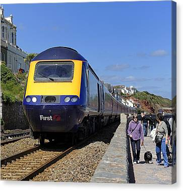 Dawlish Sea Front Canvas Print by Craig Yates
