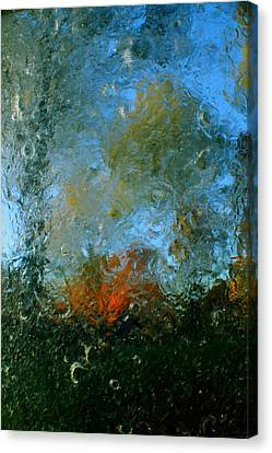 Abstract Canvas Print - Dawn Arrives by Charles Shedd