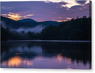 Dawn At Julian Price Lake Canvas Print