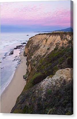 Dawn At Miramontes Point Canvas Print by Adam Pender
