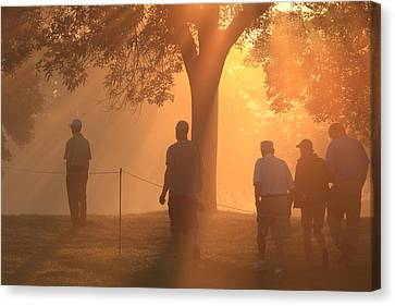 Canvas Print featuring the photograph Dawn At The Pga by Kate Purdy