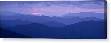 Dawn Great Smoky Mountains National Canvas Print by Panoramic Images