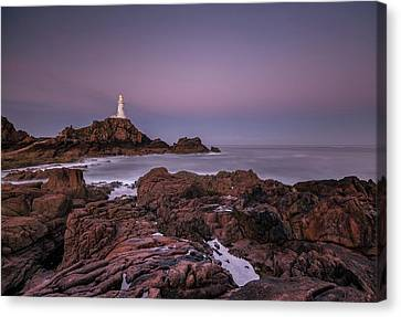 Dawn Hues At La-corbiere Canvas Print