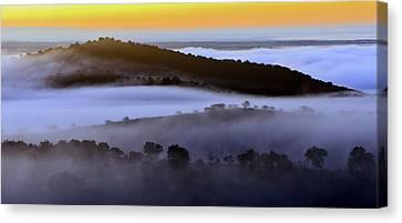 Dawn In Alentejo Canvas Print