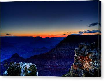 Dawn Is Breaking Canvas Print