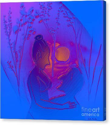Dawn Canvas Print by Latha Gokuldas Panicker