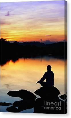 Dawn Meditation Canvas Print by Tim Gainey
