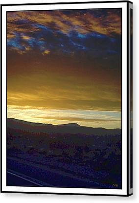 Dawn Of A New Day 2 Canvas Print by Glenn McCarthy Art and Photography