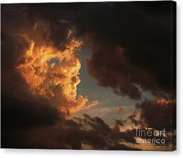 Dawn Of A New Day Canvas Print by Tim Good