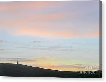 Dawn On The Hills Canvas Print
