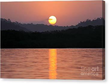 Dawn Over Darien Canvas Print by James Brunker