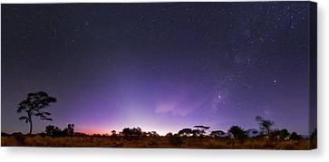 Carina Nebula Canvas Print - Dawn Over Mount Kilimanjaro by Babak Tafreshi