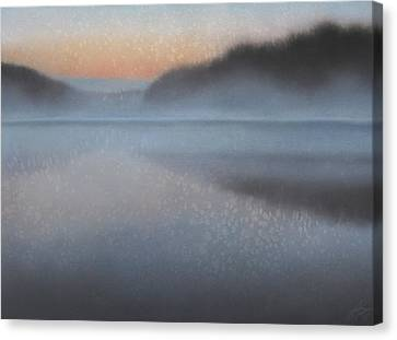 Dawn Parts The Mist Canvas Print