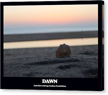 Dawn Canvas Print by Robert Banach