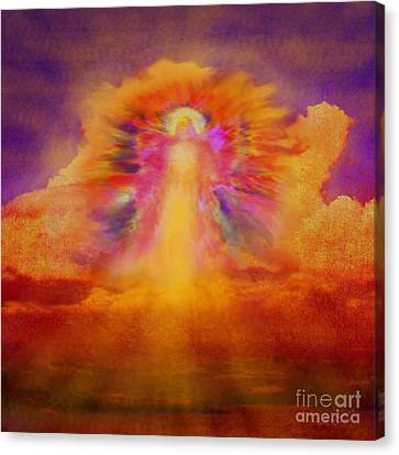 Dawn Sentinal Canvas Print by Glenyss Bourne