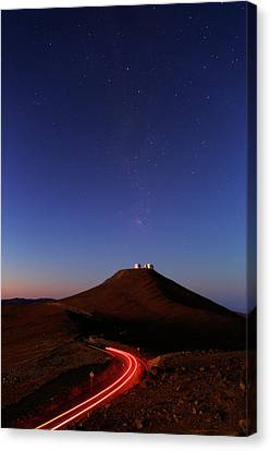 Dawn Sky Over Paranal Observatory Canvas Print
