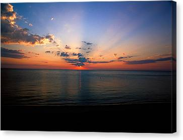 Dawning Of A Brand New Day 1 Canvas Print