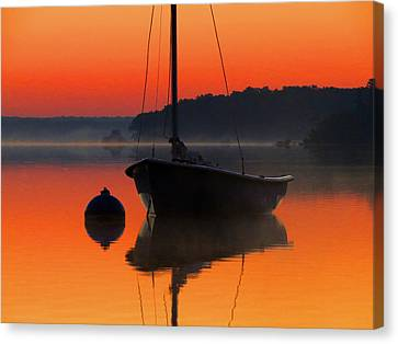 Canvas Print featuring the photograph Dawn's Light by Dianne Cowen