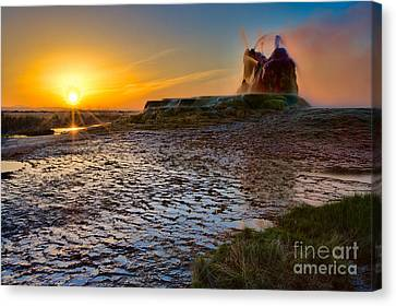 Dawn's Radiance Canvas Print by Don Hall