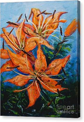 Day 21 Tiger Lily Canvas Print