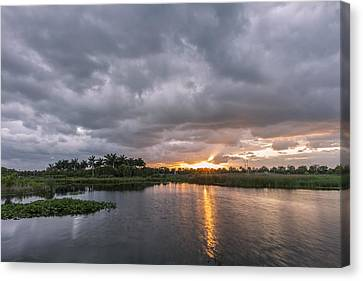 Day Beginning Canvas Print by Jon Glaser