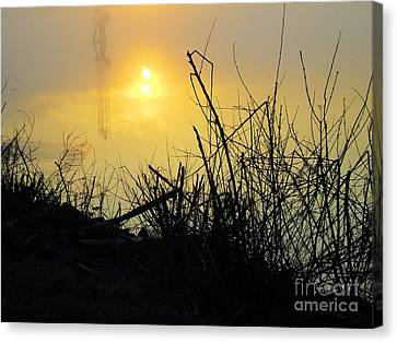 Canvas Print featuring the photograph Daybreak by Robyn King