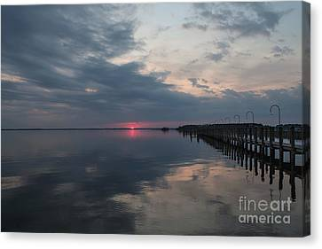 Day Is Done Canvas Print by Arlene Carmel