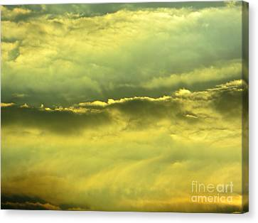 Canvas Print featuring the photograph Day Is Done by Joy Hardee