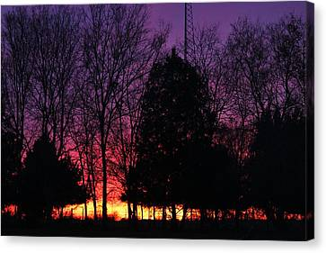Day Is Done Canvas Print by Lorri Crossno
