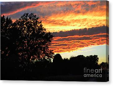 Day Is Done Canvas Print by Luther   Fine Art