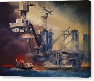 Day Of Infamy Canvas Print