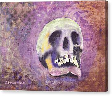 Canvas Print featuring the digital art Day Of The Dead by Arline Wagner