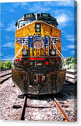 Day Train Canvas Print