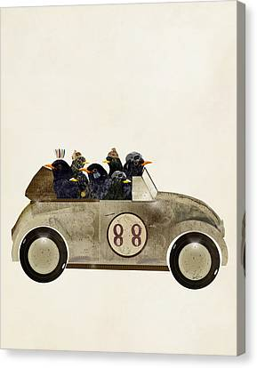Volkswagon Canvas Print - Day Tripping by Bleu Bri