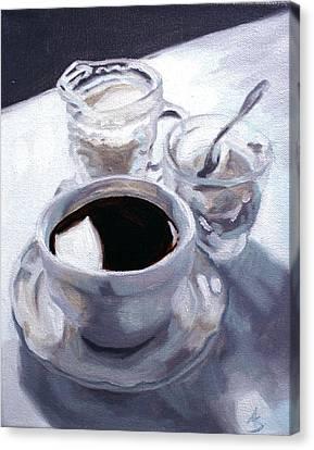Daybreak Canvas Print by Alison Schmidt Carson
