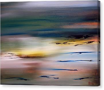 Daybreak Canvas Print by David Hatton