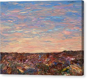Daybreak Canvas Print by James W Johnson