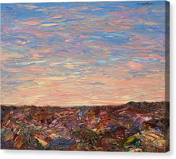 Daybreak Canvas Print by James W Johnson