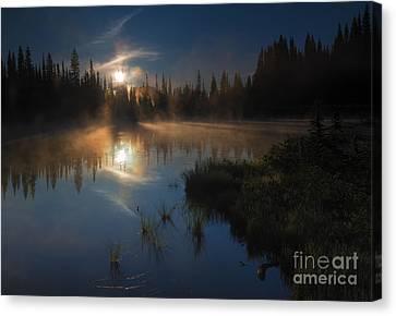 Daybreak Canvas Print by Mike Dawson