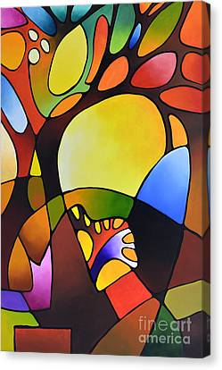 Daydream Canvas Three Canvas Print by Sally Trace