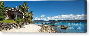 Daydream Island Pano Canvas Print by Shannon Rogers