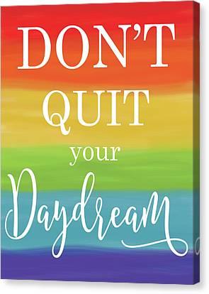 Daydream Rainbow Canvas Print by Alli Rogosich