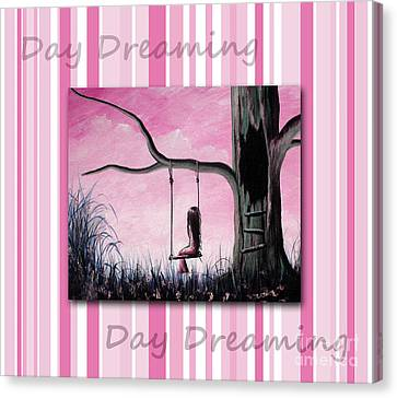 Daydreaming In Pink By Shawna Erback Canvas Print