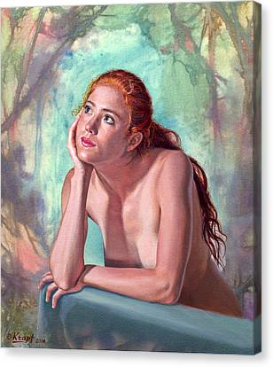 Daydreaming Canvas Print by Paul Krapf