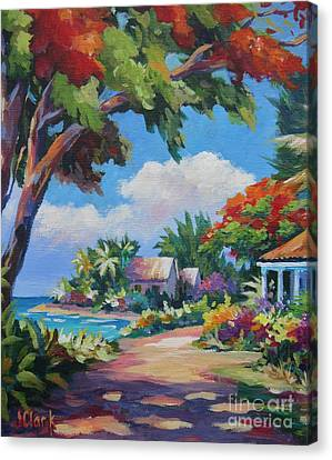 Daylight And Shade Canvas Print