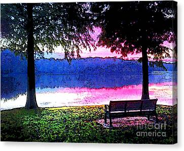 Daylight Come Canvas Print by Nancy E Stein