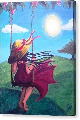 Daylight Canvas Print by Sorimagda Nunez