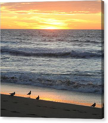 Days End Canvas Print by Art Block Collections
